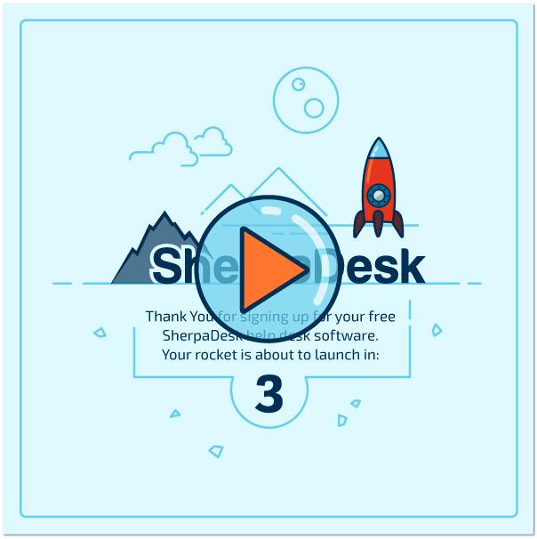 SherpaDesk Help Desk Develpers corner Thank you page HTML tips