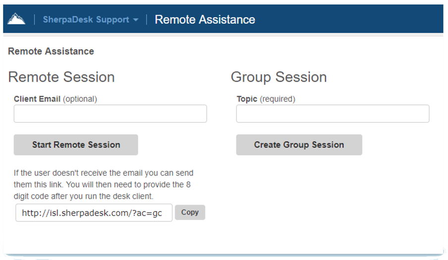 Remote Assistants