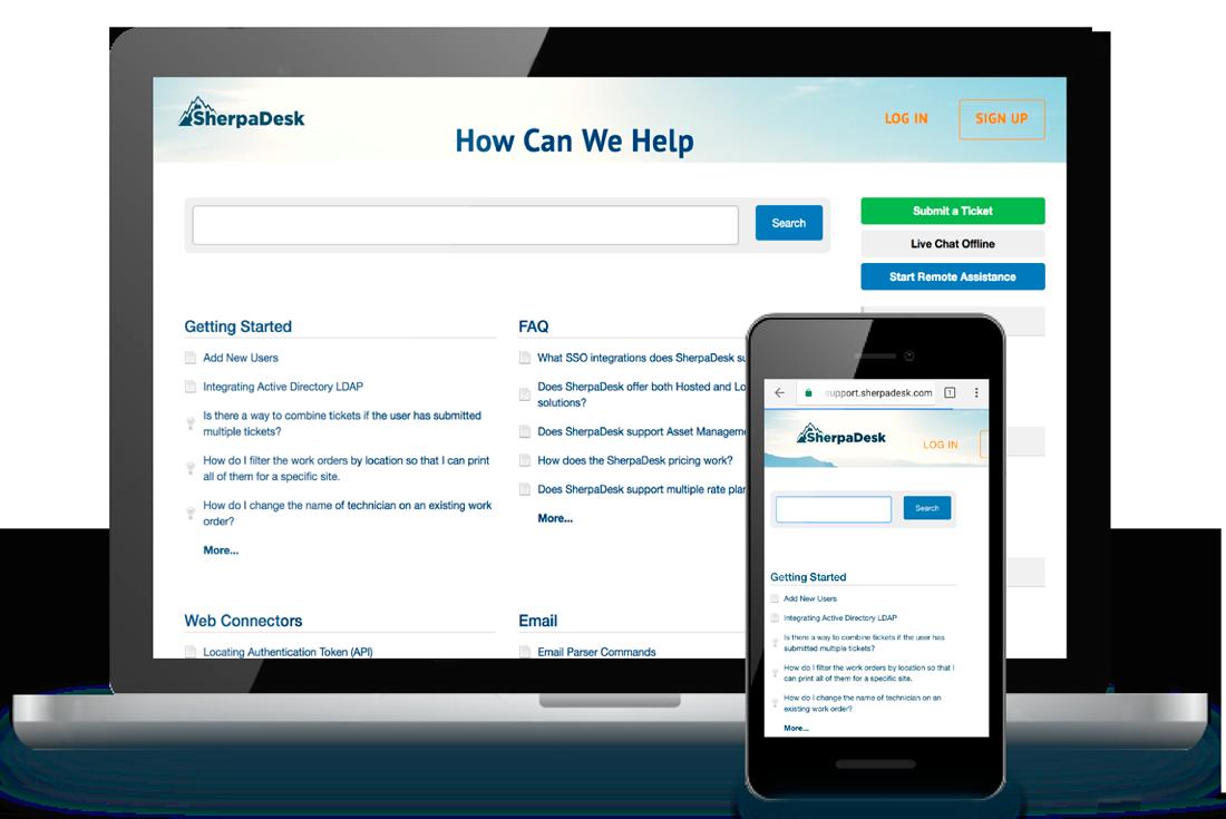 Branded Support Portal